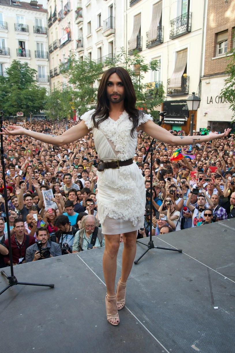 Conchita Wurst /Carlos Alvarez /Getty Images