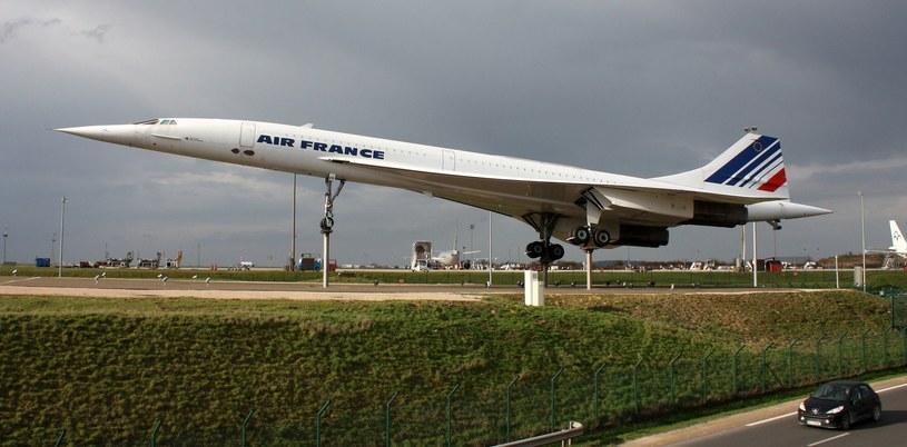 Concorde, trafimy na niego jadąc do paryskiego lotniska imienia Charlesa De Gaulle'a /123RF/PICSEL