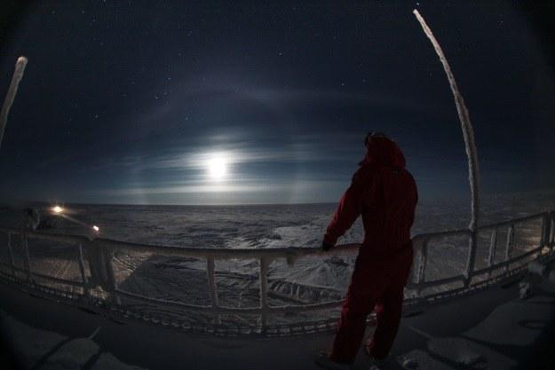 Concordia to lodowe piekło na Ziemi (Fot. ESA) /materiały prasowe