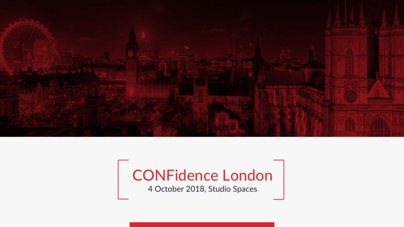 CONFidence London /materiały prasowe