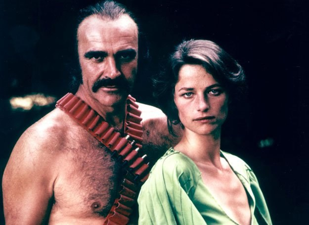 "Connery w filmie ""Zardoz"" z 1974 roku /Getty Images/Flash Press Media"