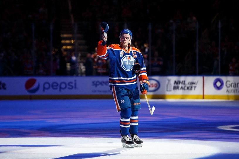 Connor McDavid z Edmonton Oilers /AFP