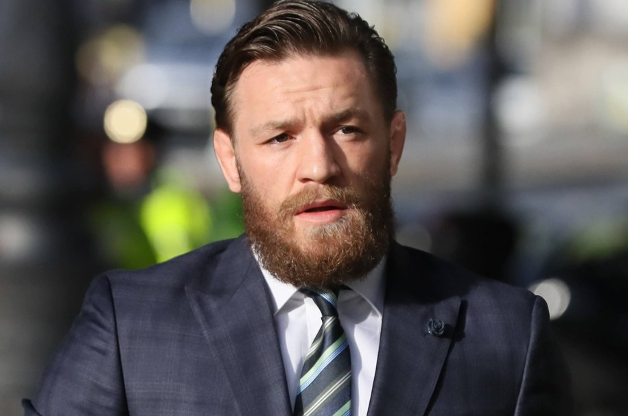 Conor McGregor /Brian Lawless - PA Images /PAP/EPA