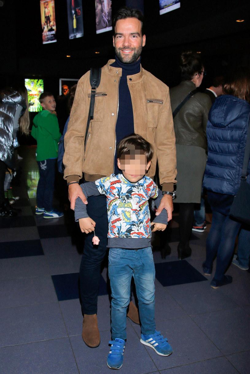 Conrado Moreno z synem /Krzemiński Jordan /AKPA