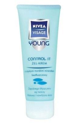 Control It żel-krem NIVEA VISAGE YOUNG /materiały prasowe