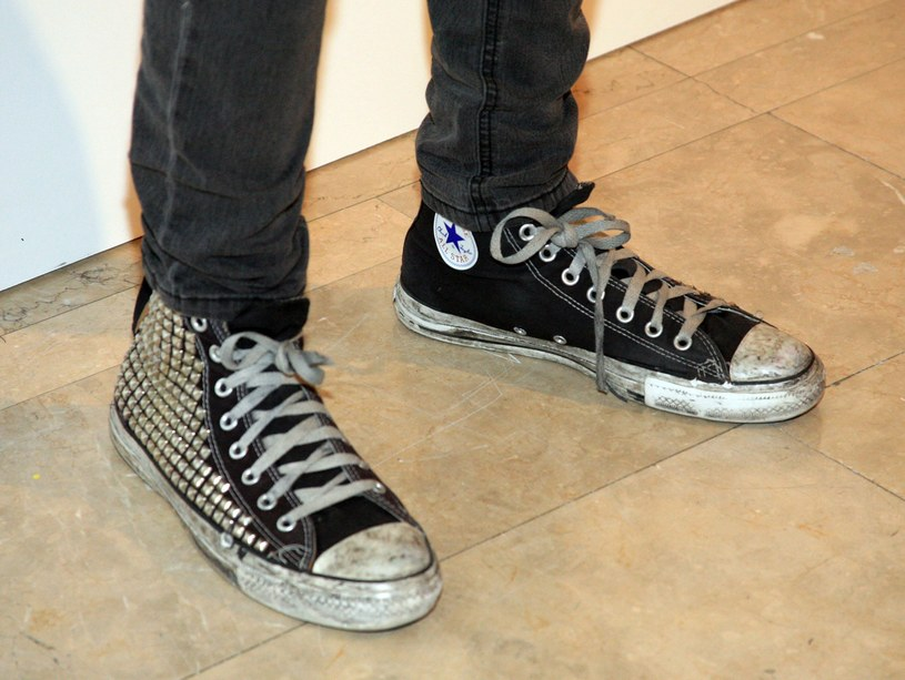 "Converse ""Chuck Taylor"" All Star produkowane są już od prawie 90 lat /Getty Images/Flash Press Media"