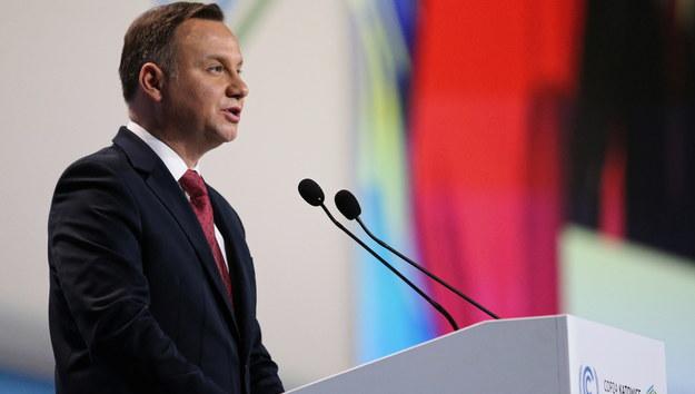 COP24. Prezydent Andrzej Duda zainaugurował szczyt klimatyczny ONZ w Katowicach