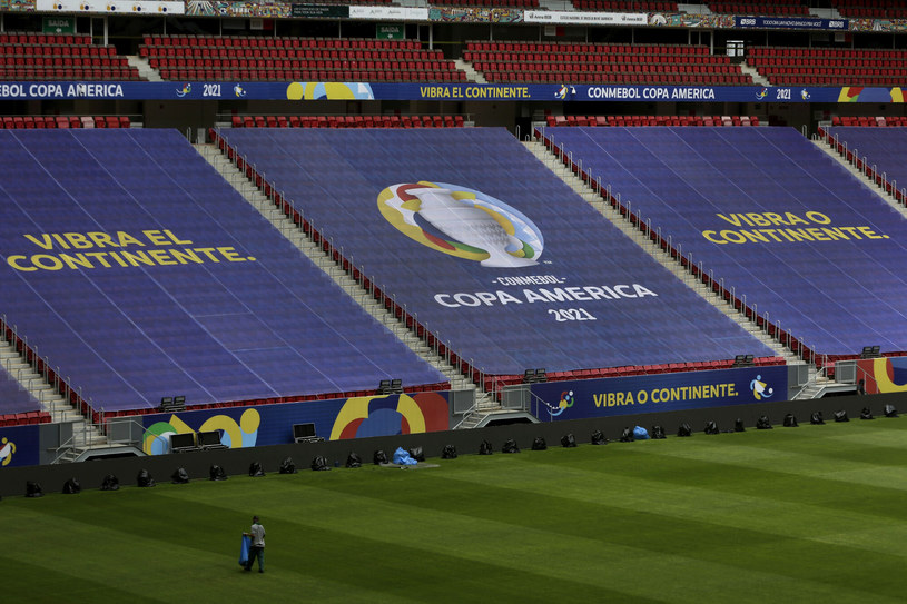 Copa America 2021, po licznych perturbacjach, odbędzie się w Brazylii /AP/Associated Press/East News /East News
