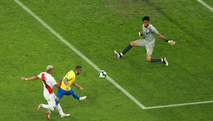 Copa America: Peru - Brazylia 0-5