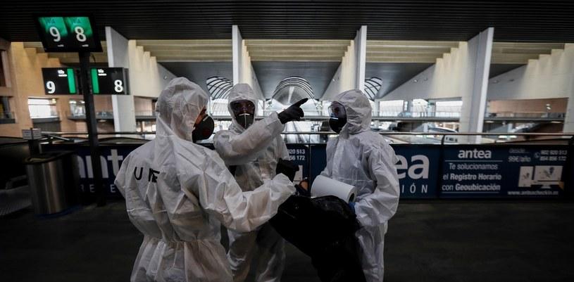 Coraz trudniejsza sytuacja w Hiszpanii /Jose Manuel Vidal/EFE /Agencja FORUM