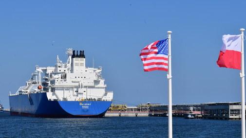 Coraz więcej gazu z Ameryki