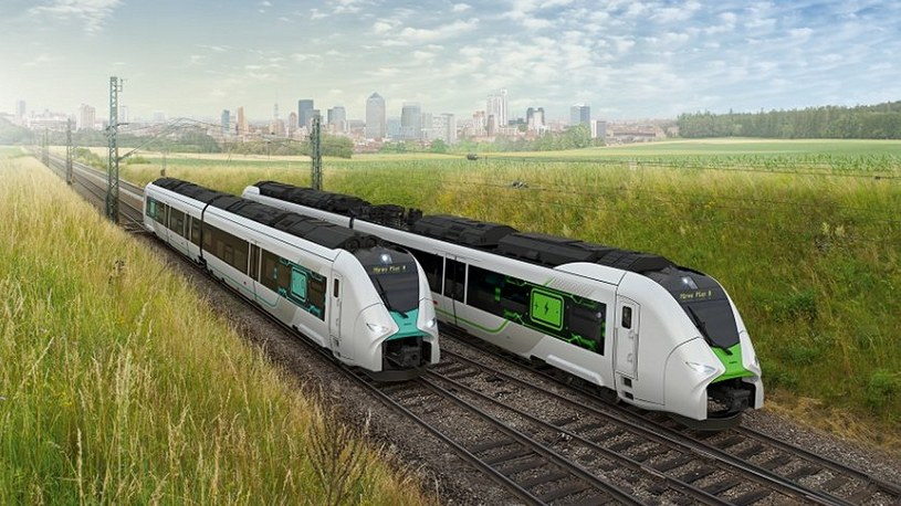 Coraz więcej krajów Europy stawia na ekologiczne podróże wodorowymi pociągami /Geekweek