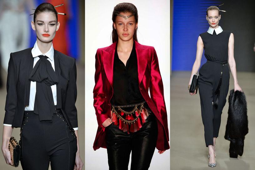 Coraz większą popularnością cieszą się damskie stylizacje inspirowane modą męską /East News/ Zeppelin