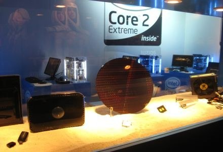Core 2 Quad i Intel Core 2 Extreme - tego nie mogło zabraknąć /INTERIA.PL - Łukasz Kujawa