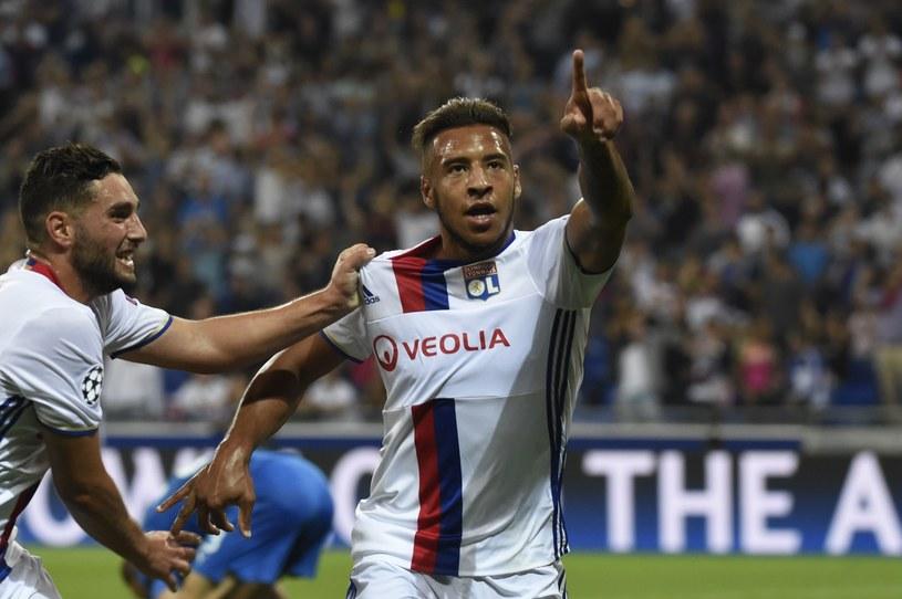 Corentin Tolisso świętuje gola dla Olympique Lyon /AFP