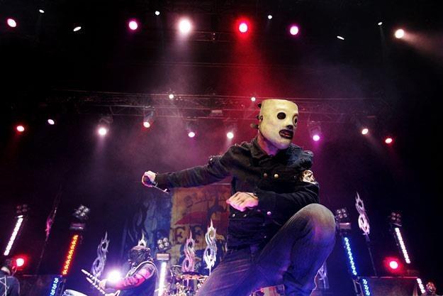 Corey Taylor z zespołem Slipknot (fot. Lisa Maree Williams) /Getty Images