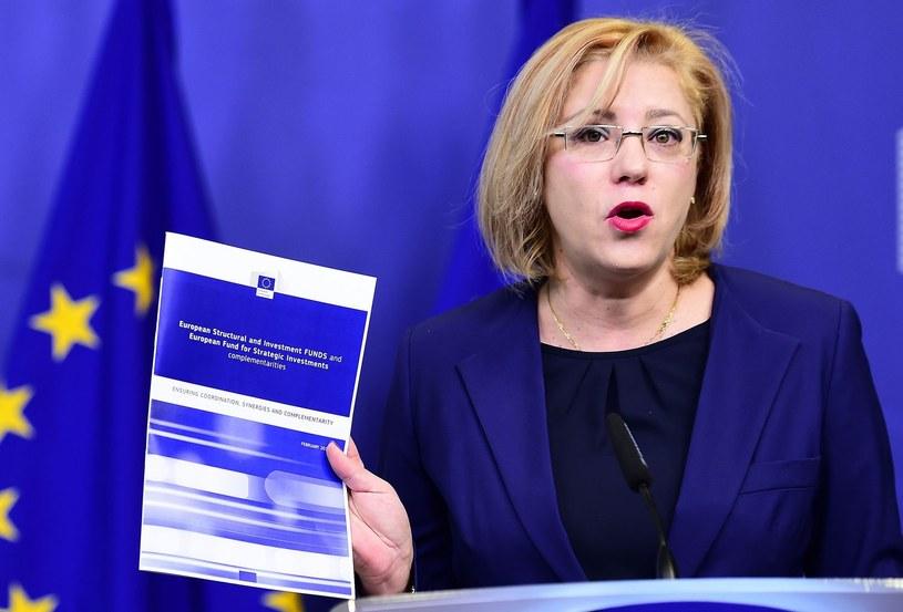 Corina Cretu, do której polski przedstawiciel KE skierował pismo /AFP