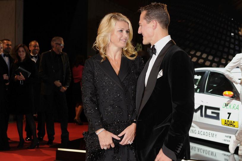 Corinna i Michael Schumacherowie /Getty Images