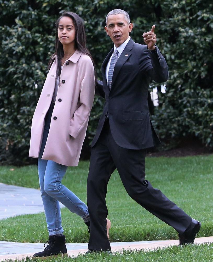 Córka Baracka Obamy skończyła 18 lat /Mark Wilson /Getty Images