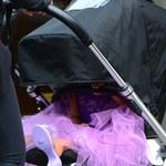 Córka Kim Kardashian i Kanye Westa już nosi obcasy!