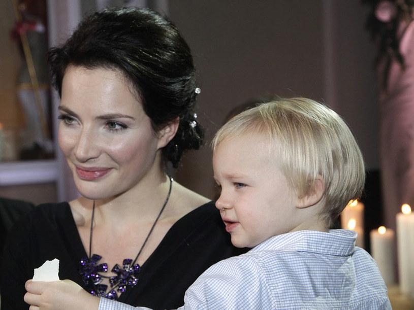 Córka Lenka jest dla aktorki całym świtem  /Andrzej Engelbrecht /AKPA