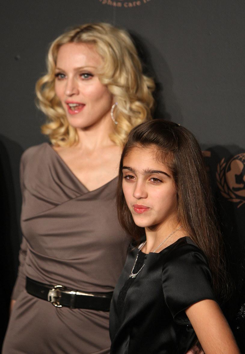 Córka Madonny, Lourdes, nie akceptuje jej młodych kochanków /Stephen Lovekin /Getty Images