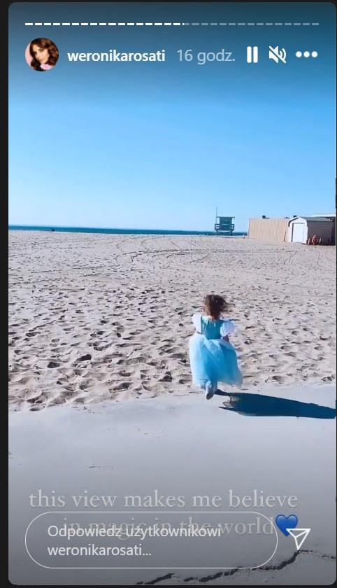 Córka Weronika Rosati /Instagram/weronikarosati /Instagram