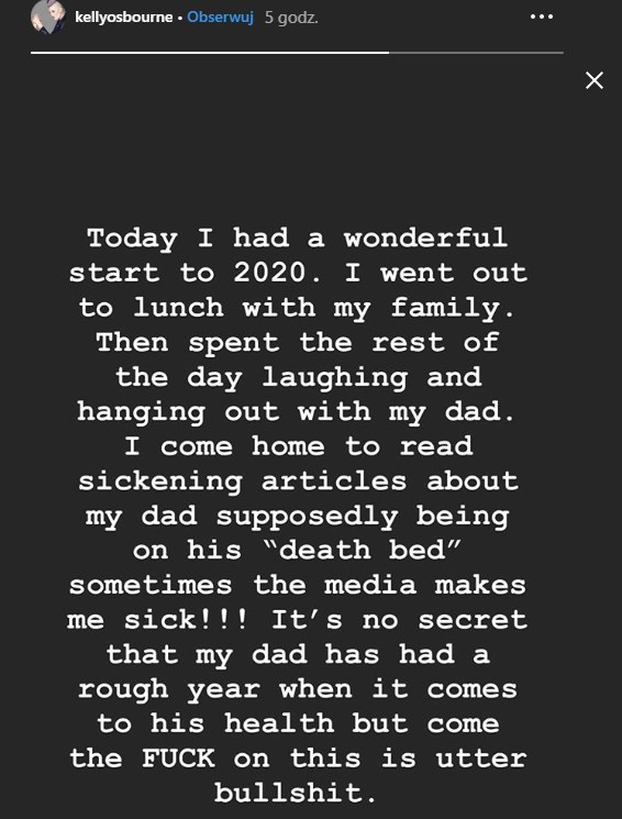 Córka wokalisty w mocnych słowach skomentowała plotki /Instagram /materiał zewnętrzny