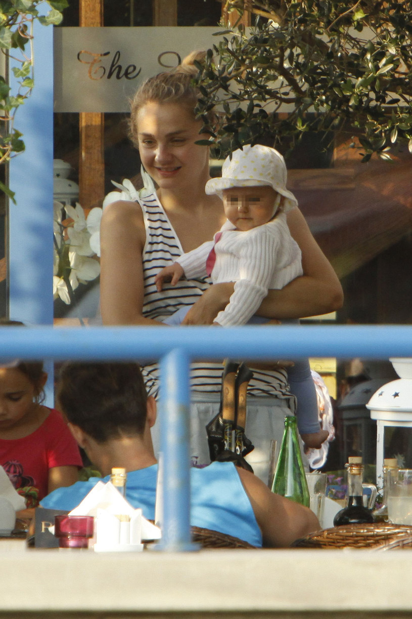 Córka Zosia jest jej oczkiem w głowie /Foto IP