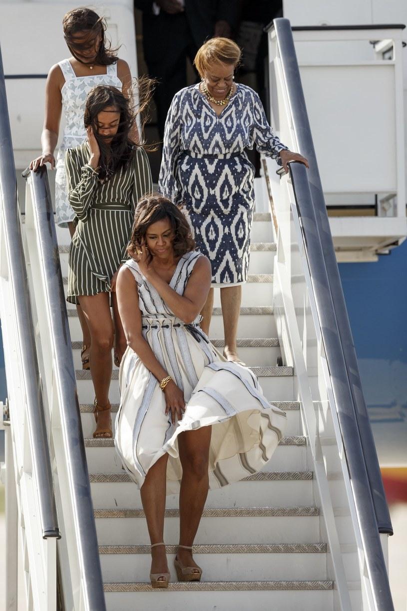 Córki i żona Obamy /East News