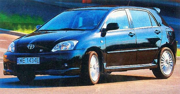 Corolla TTE Compressor, choć wyposażona w kilka dodatków zewnętrznych, nie szokuje wyglądem. Zmiany techniczne są o wiele istotniejsze. /Motor