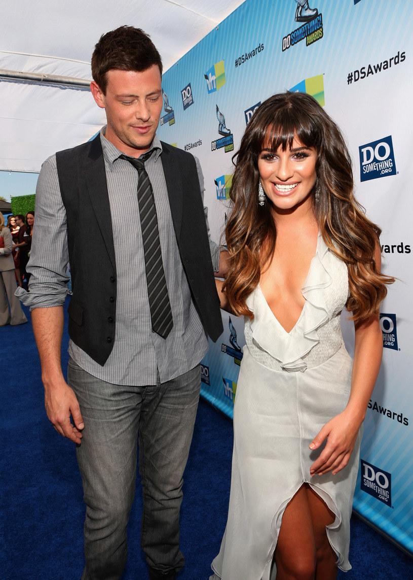 Cory Monteith i Lea Michele mieli wkrótce brać ślub - zdjęcie z 2012 r. /Christopher Polk /Getty Images