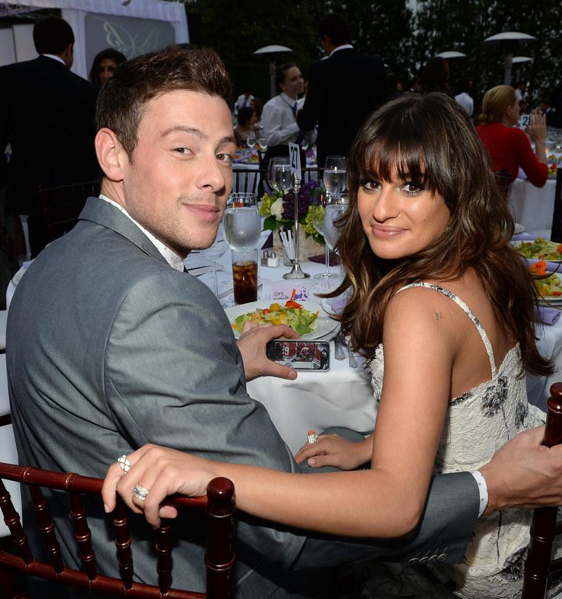 Cory Monteith i Lea Michele /Michael Buckne /Getty Images