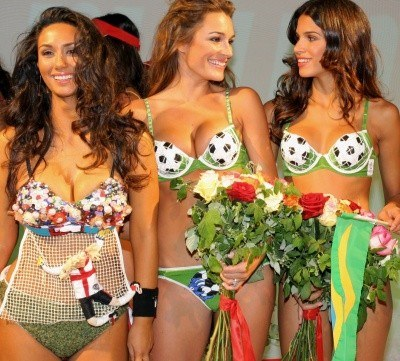 Coś specjalnego dla kobiet z okazji mundialu. A może też dla mężczyzn? /AFP