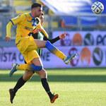 Cosenza Calcio - Frosinone Calcio 1-2 w 27. kolejce Serie B. Gol Przemysława Szymińskiego