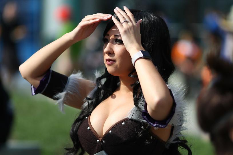 Cosplayerka na imprezie BlizzCon /AFP