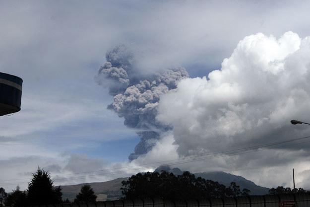 Cotopaxi uważany jest za jeden z najniebezpieczniejszych wulkanów na świecie fot. Juan Cevallos /AFP