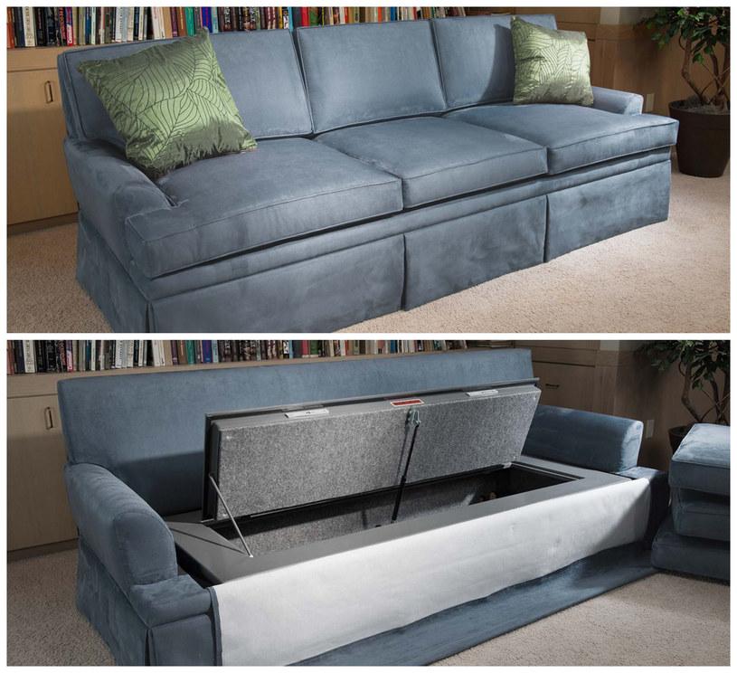 Couch Bunker to także standardowa - i podobno bardzo wygodna - kanapa /materiały prasowe