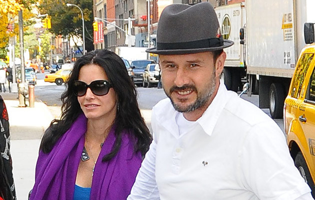 Courteney Cox i David Arquette   /Splashnews