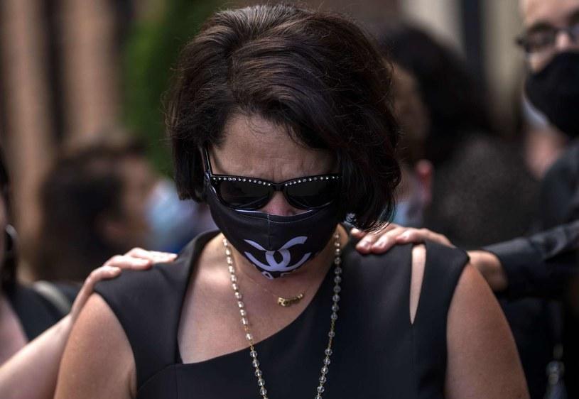 Courteney Ross, dziewczyna George'a Floyda /AFP