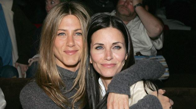 Courteney z przyjaciółką Jennifer Aniston, fot. Alberto E. Rodriguez  /Getty Images/Flash Press Media