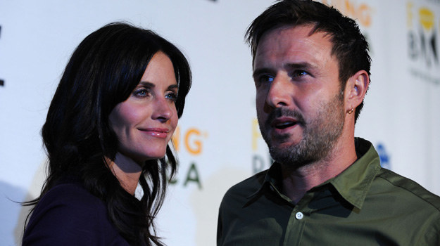 Courtney Cox i David Arquette /Frazer Harrison /Getty Images