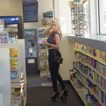 Courtney Stodden kupuje test ciążowy