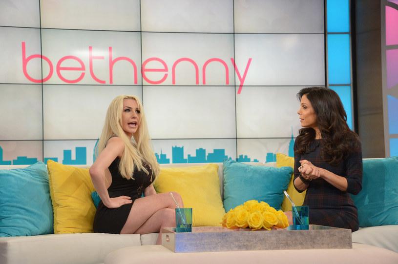 Courtney Stodden podczas wywiadu /Mike Coppola /Getty Images