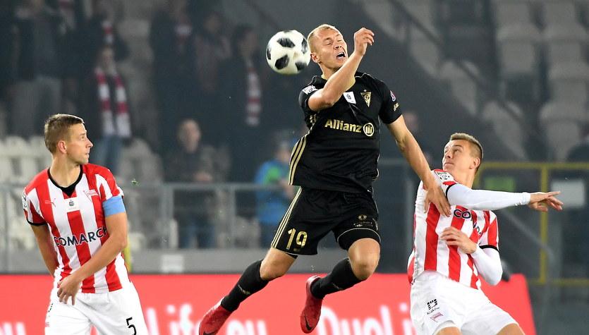 Cracovia - Górnik Zabrze 2-0 w 12. kolejce Ekstraklasy