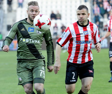 Cracovia - Legia Warszawa 1-2 w 30. kolejce Lotto Ekstraklasy