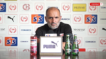 Cracovia. Michał Probierz przed meczem z Legią o Superpuchar Polski. Wideo