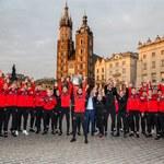 Cracovia. Piłkarze świętowali z kibicami zdobycie Pucharu Polski