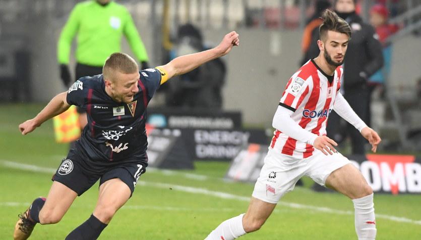 Cracovia - Pogoń Szczecin 2-1 w meczu 19. kolejki Ekstraklasy
