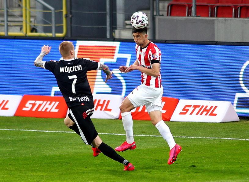 Cracovia przegrała z Jagiellonią 0-1 //Łukasz Gągulski /PAP